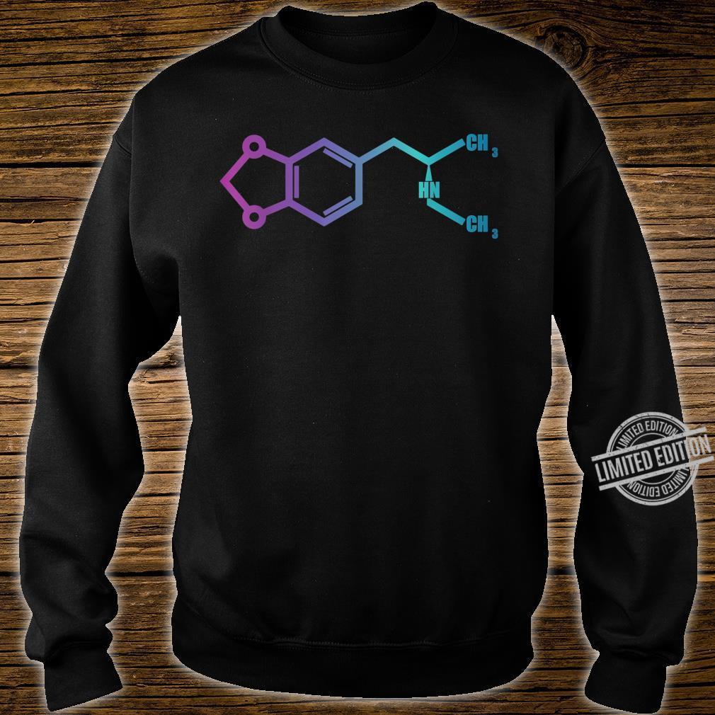 MDMA Shirt Molecule Shirt sweater