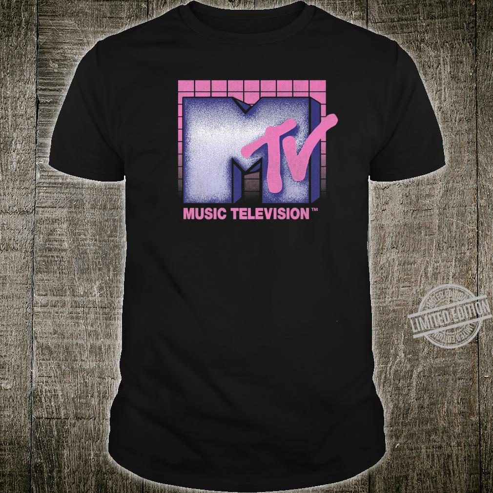 MTV Music Television 80's Grid Logo Shirt