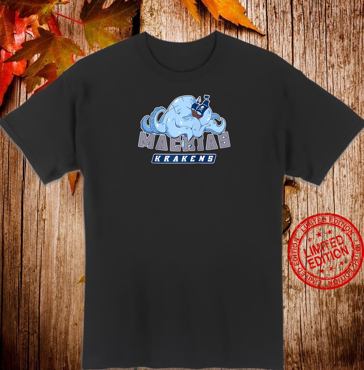 Machias Krakens Blue Shirt