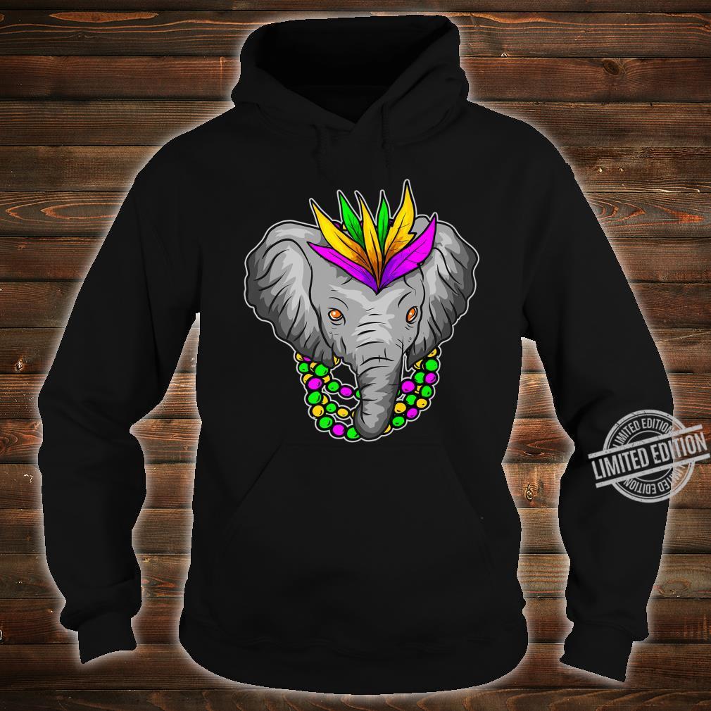 Mardi Gras Elephant Beads Shirt hoodie