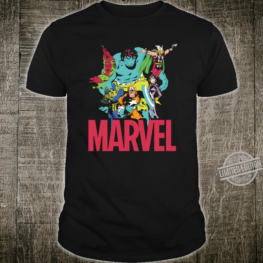 Marvel Classic Avengers Color Trip Shirt