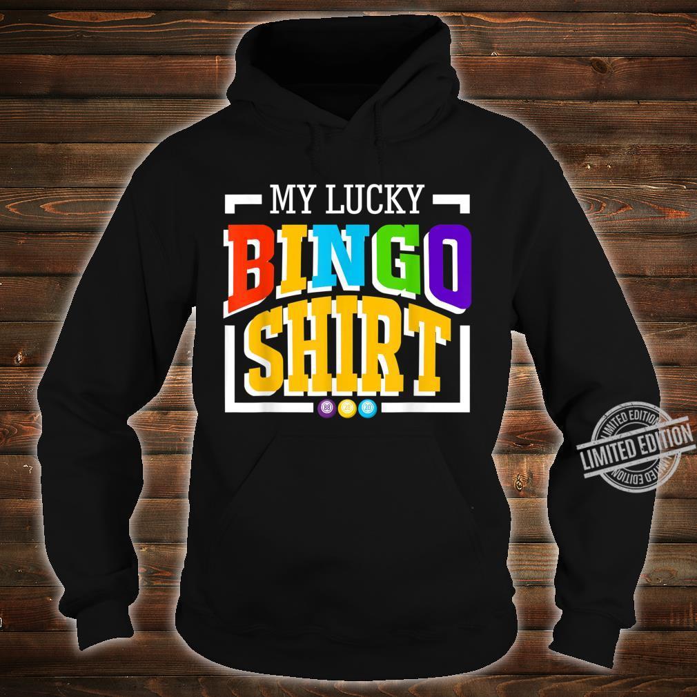 Mein GlücksBingoShirt Frauen NeuheitBingo Lustig Shirt hoodie