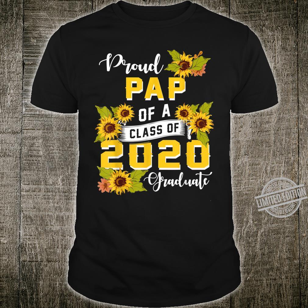 Mens Proud Pap Of A Class Of 2020 College Graduate Shirt