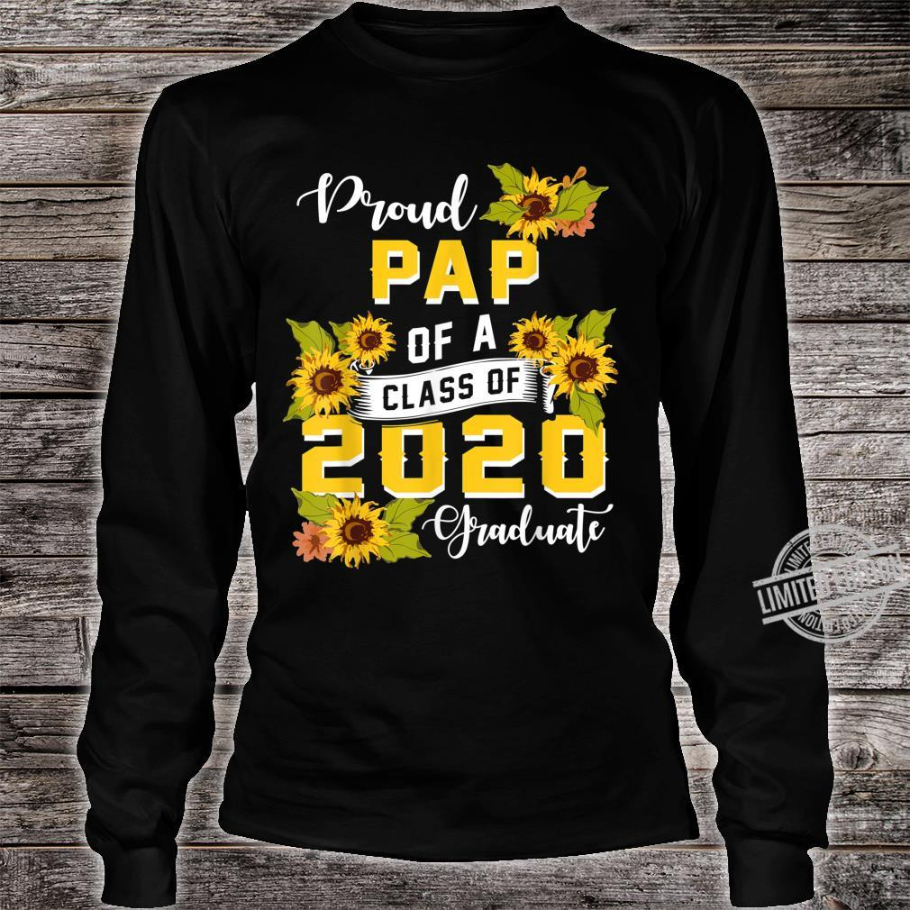 Mens Proud Pap Of A Class Of 2020 College Graduate Shirt long sleeved