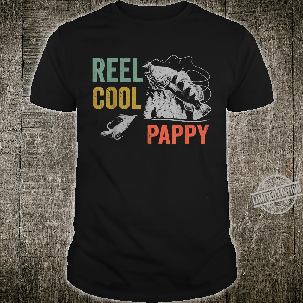 Mens Reel Cool Pappy Fishing Father's Day Shirt