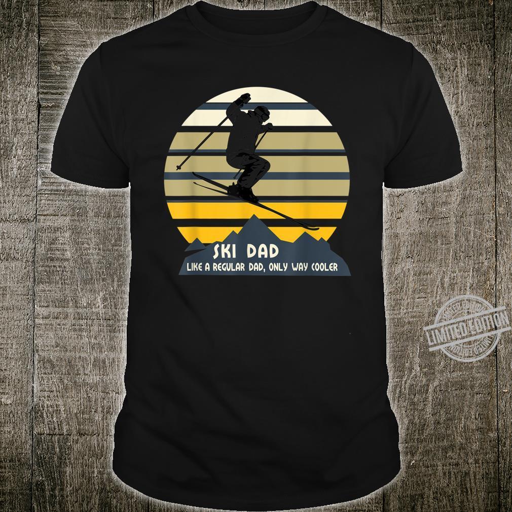Mens Ski Dad Winter Sport Skiing Ski Shirt