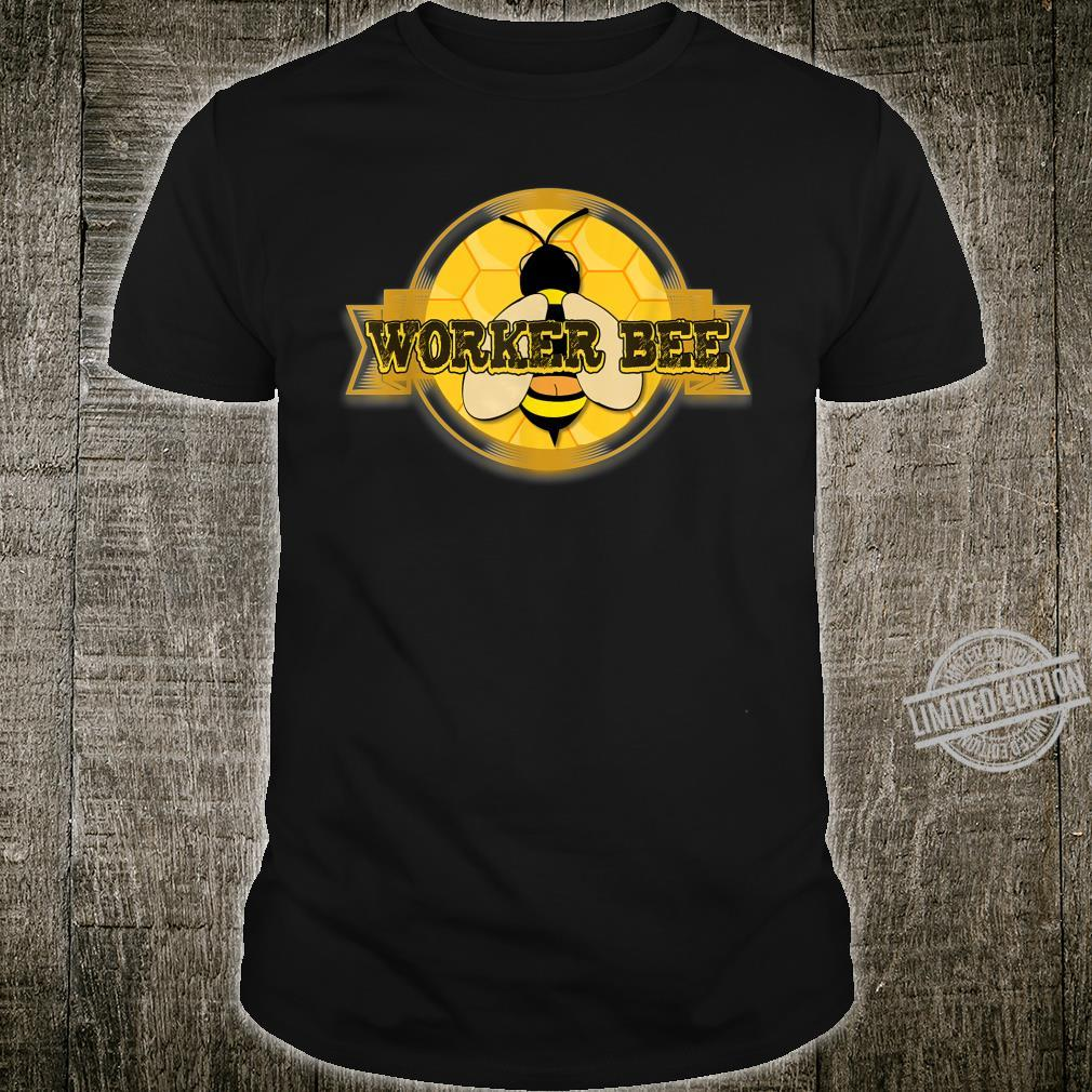 Mens Worker Bee With Saggy Pants Bee Keepers Humor Shirt