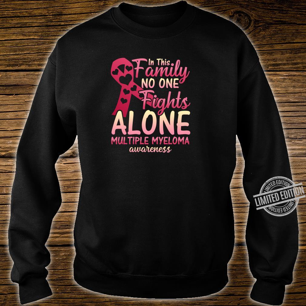 Multiple Myeloma Cancer Awareness Family Myeloma Cancer Shirt sweater