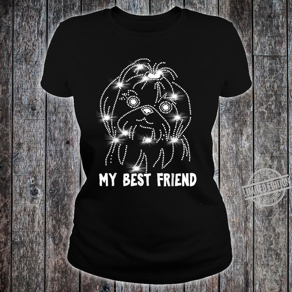 My Shih Tzu Best friend Shirt ladies tee