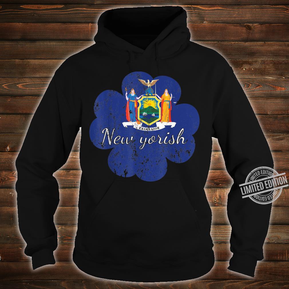 New York shirt 4 leaf clover shirtfunny st patricks day Shirt hoodie