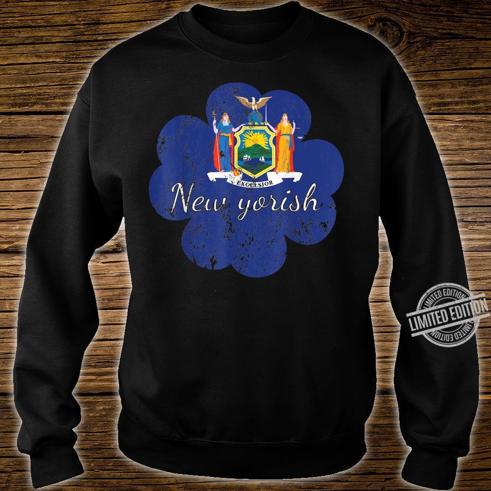 New York shirt 4 leaf clover shirtfunny st patricks day Shirt sweater