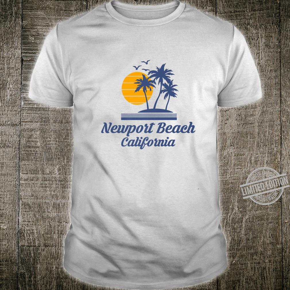 Newport Beach California CA City State Tourist Souvenir Shirt