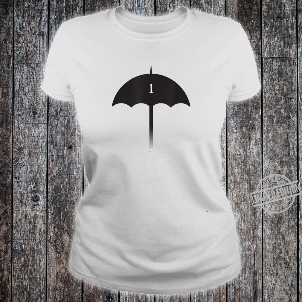Number 1 Umbrella Shirt Superhero Shirt ladies tee