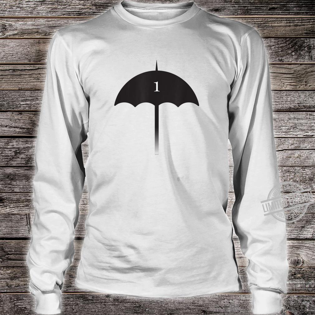 Number 1 Umbrella Shirt Superhero Shirt long sleeved