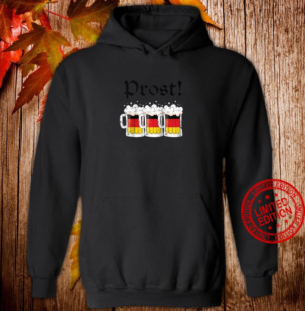 Oktoberfest Shirt Drinking Team German Flag Prost Shirt hoodie