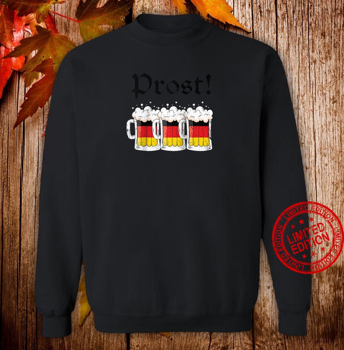 Oktoberfest Shirt Drinking Team German Flag Prost Shirt sweater