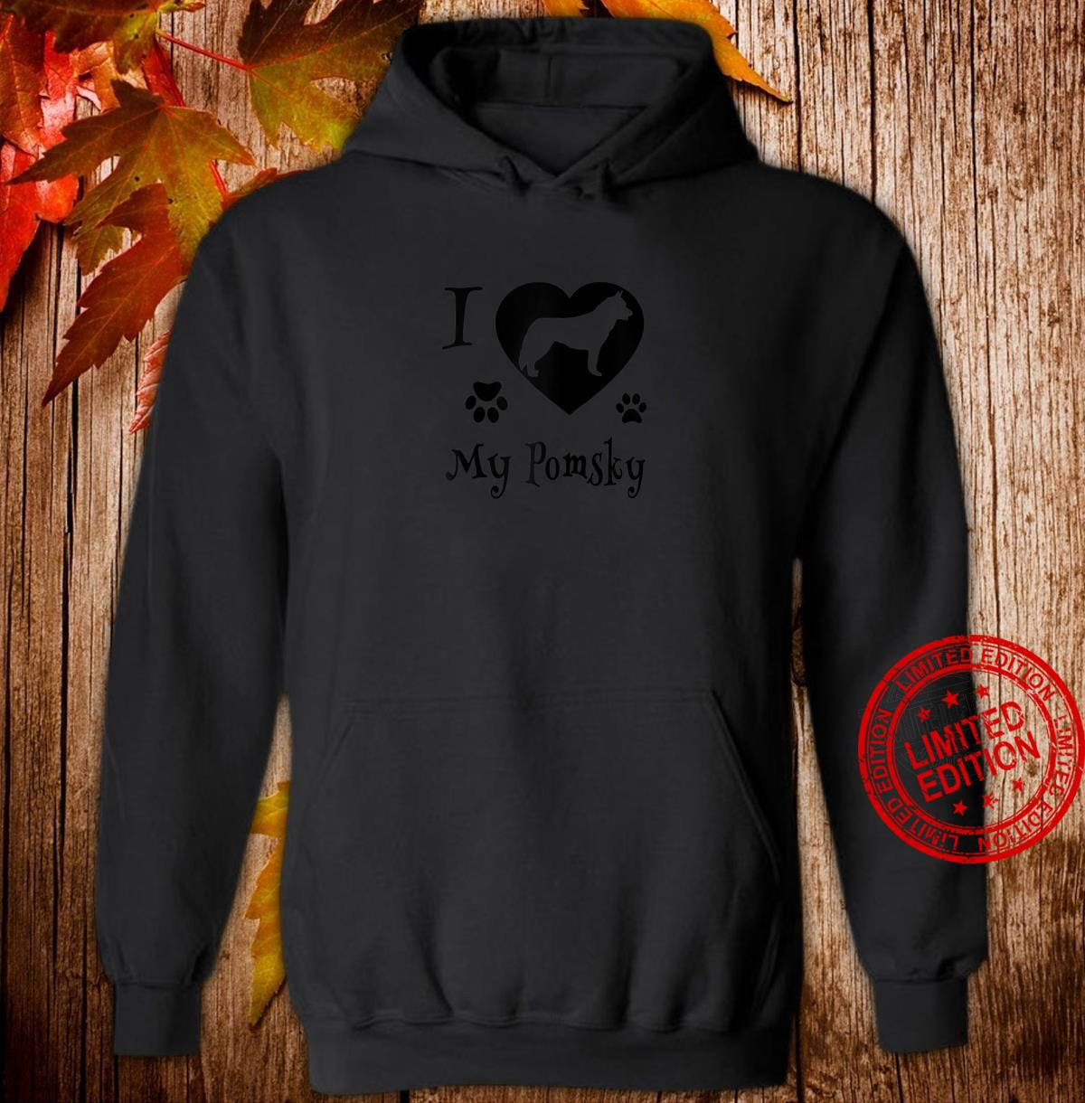 Pomsky Shirt Design for Pomsky Dogs Shirt hoodie