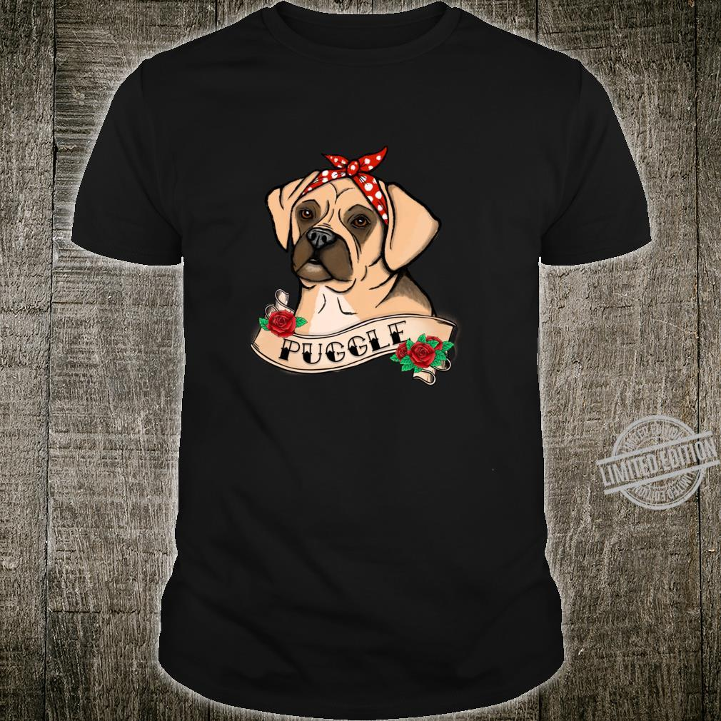 Puggle For A Dog Mom Adorable Rescue Puppy Girls Shirt
