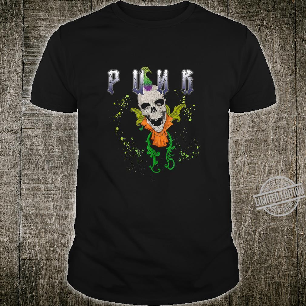 Punk Rock Skull Skeleton Rocker Fans Shirt