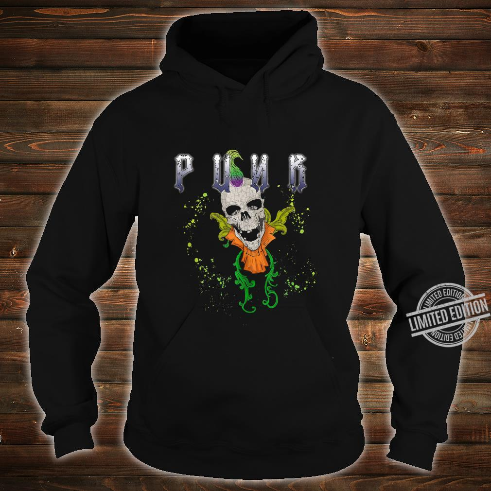 Punk Rock Skull Skeleton Rocker Fans Shirt hoodie