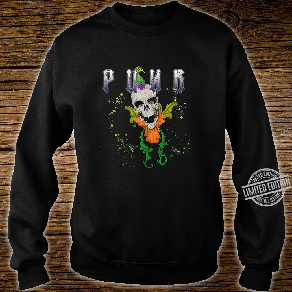 Punk Rock Skull Skeleton Rocker Fans Shirt sweater