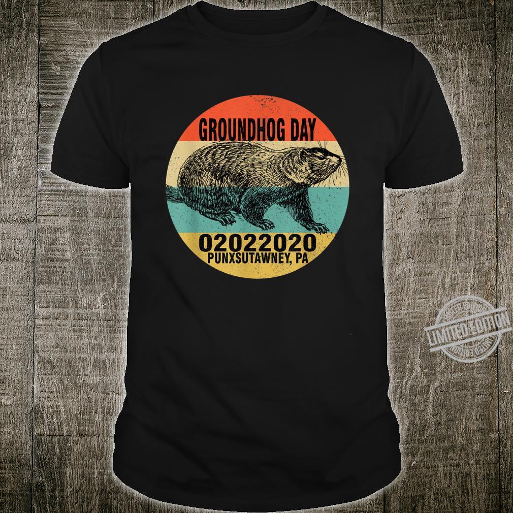Punxsutawney PA Groundhog day Celebration Shirt
