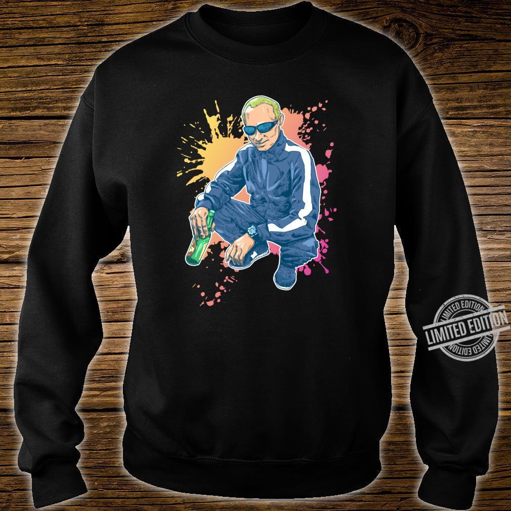 Putin macht die Russenhocke Geschenk für einen Russen Shirt sweater