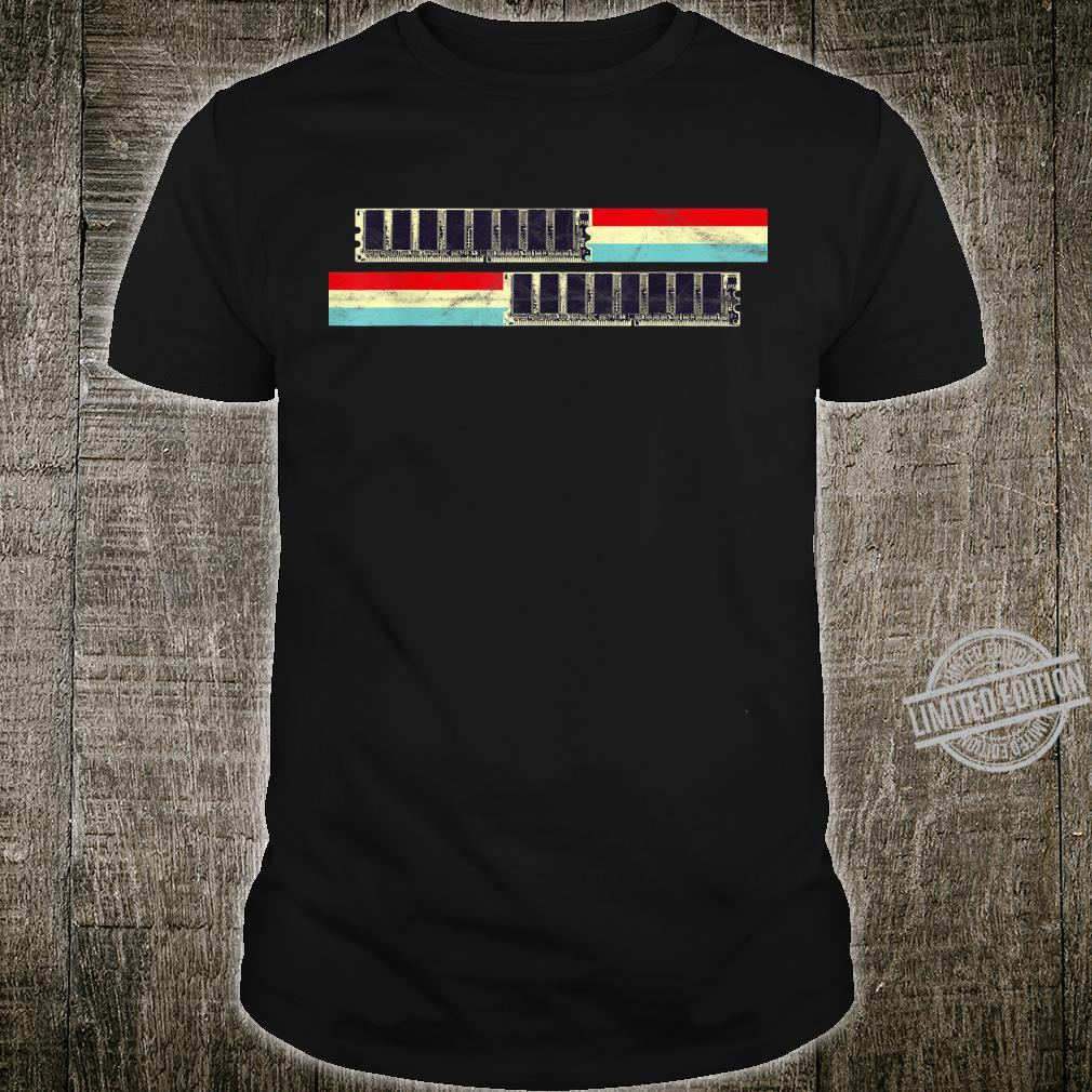 RAM Memory Hardware Developer Computer Scientist Geek Coder Shirt