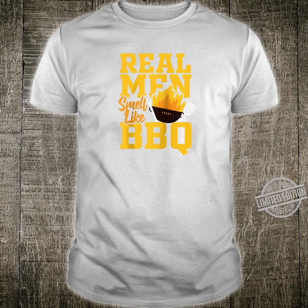 Real Smell Like BBQ For Barbecue Grill & PitMaster Shirt