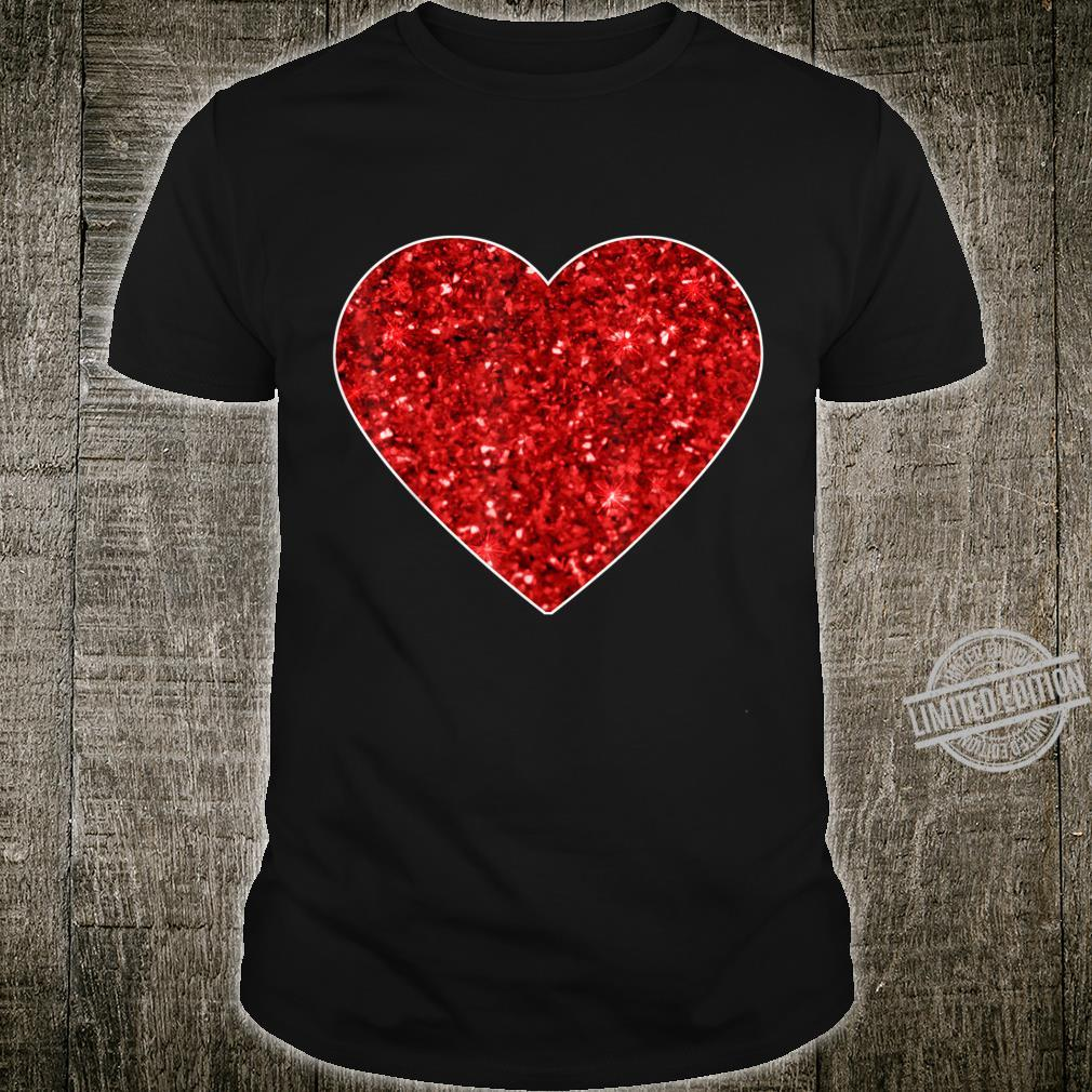 Red Love Heart Valentine's Day Girls Shirt