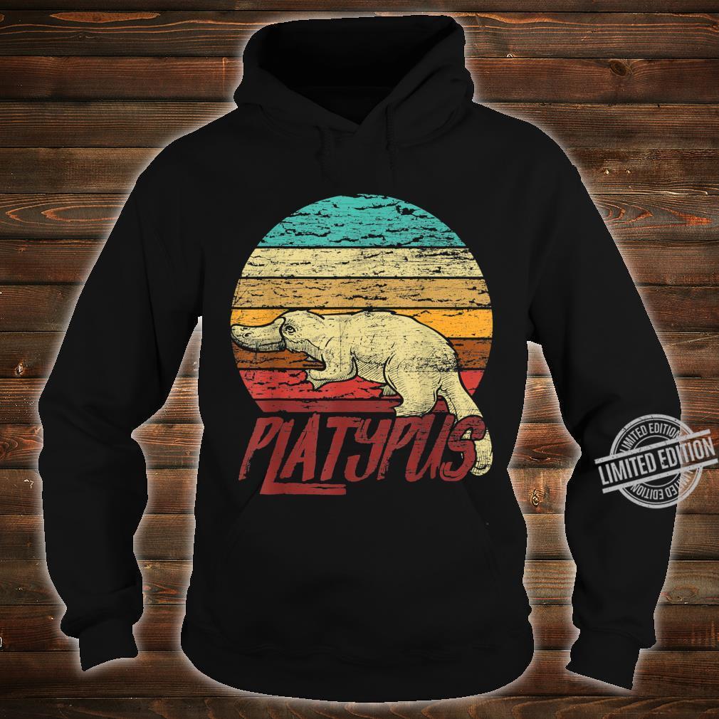 Retro Platypus Shirt hoodie