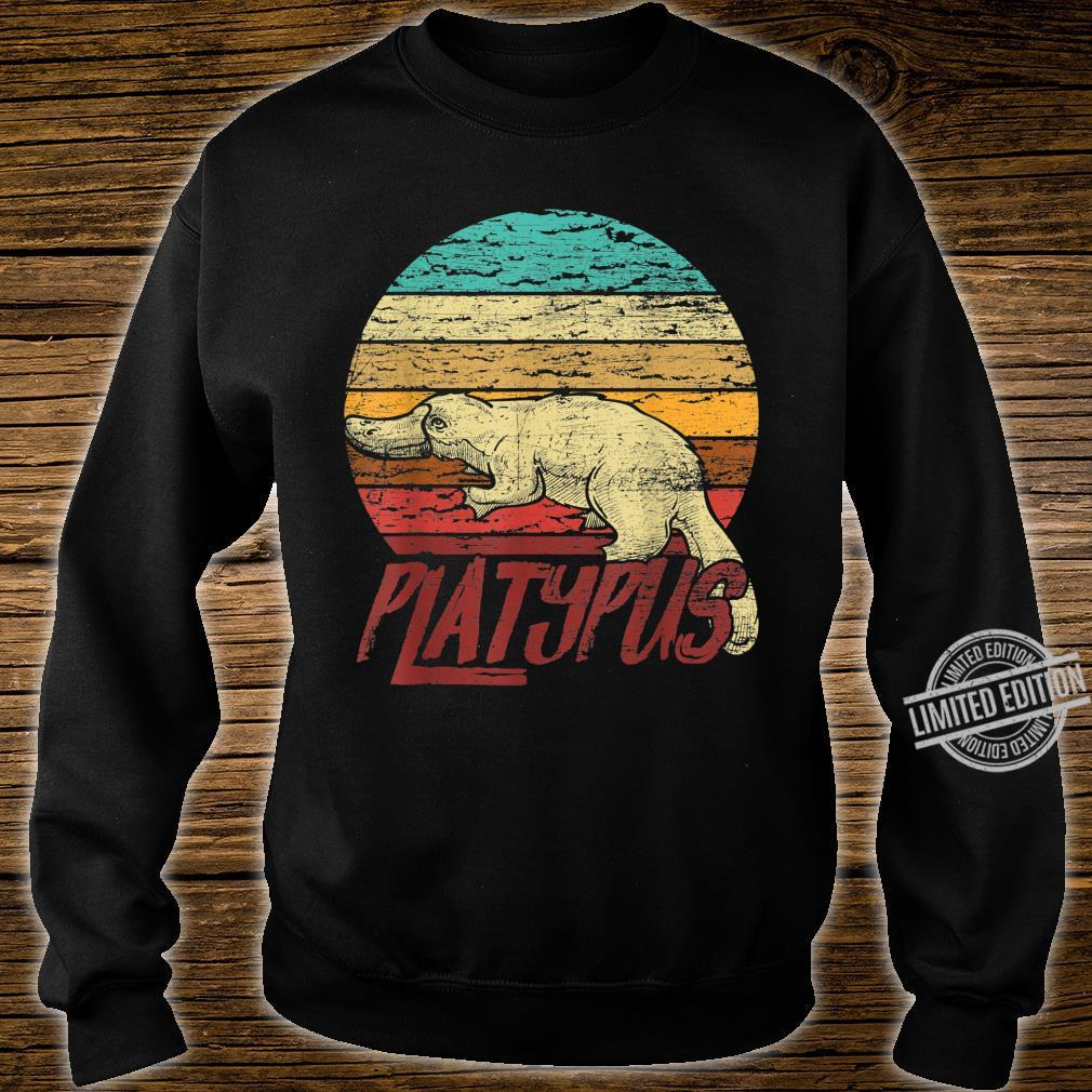Retro Platypus Shirt sweater
