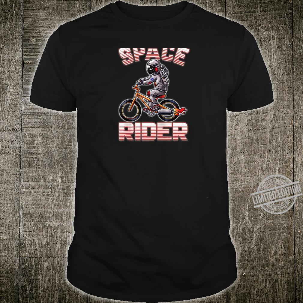 Rocket Bike SpaceMan Astronaut Shirt
