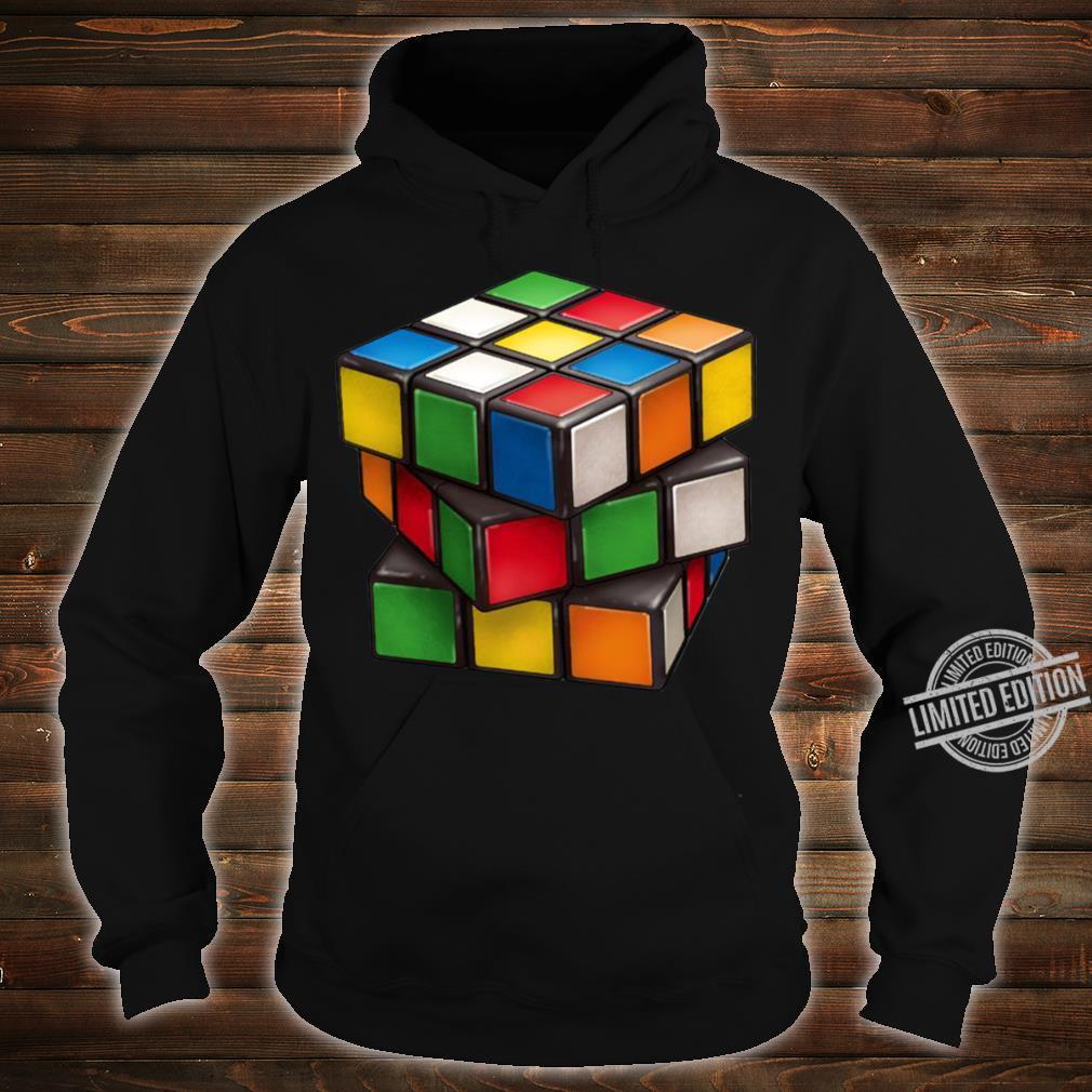 Rubiks Cube Shirt hoodie