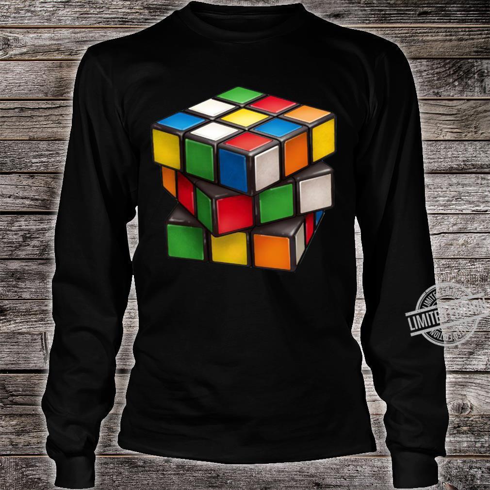Rubiks Cube Shirt long sleeved