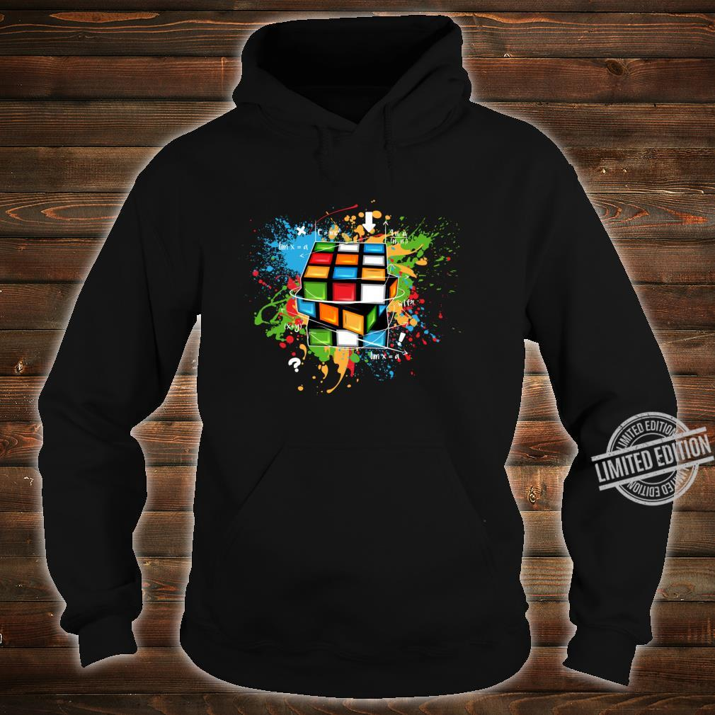 Rubix Cube Watercolour Rubic Cube For Math Rubik Cube Shirt hoodie