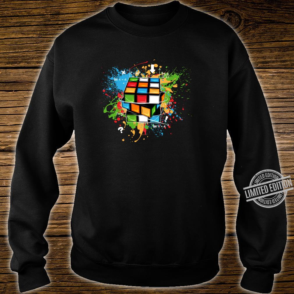 Rubix Cube Watercolour Rubic Cube For Math Rubik Cube Shirt sweater