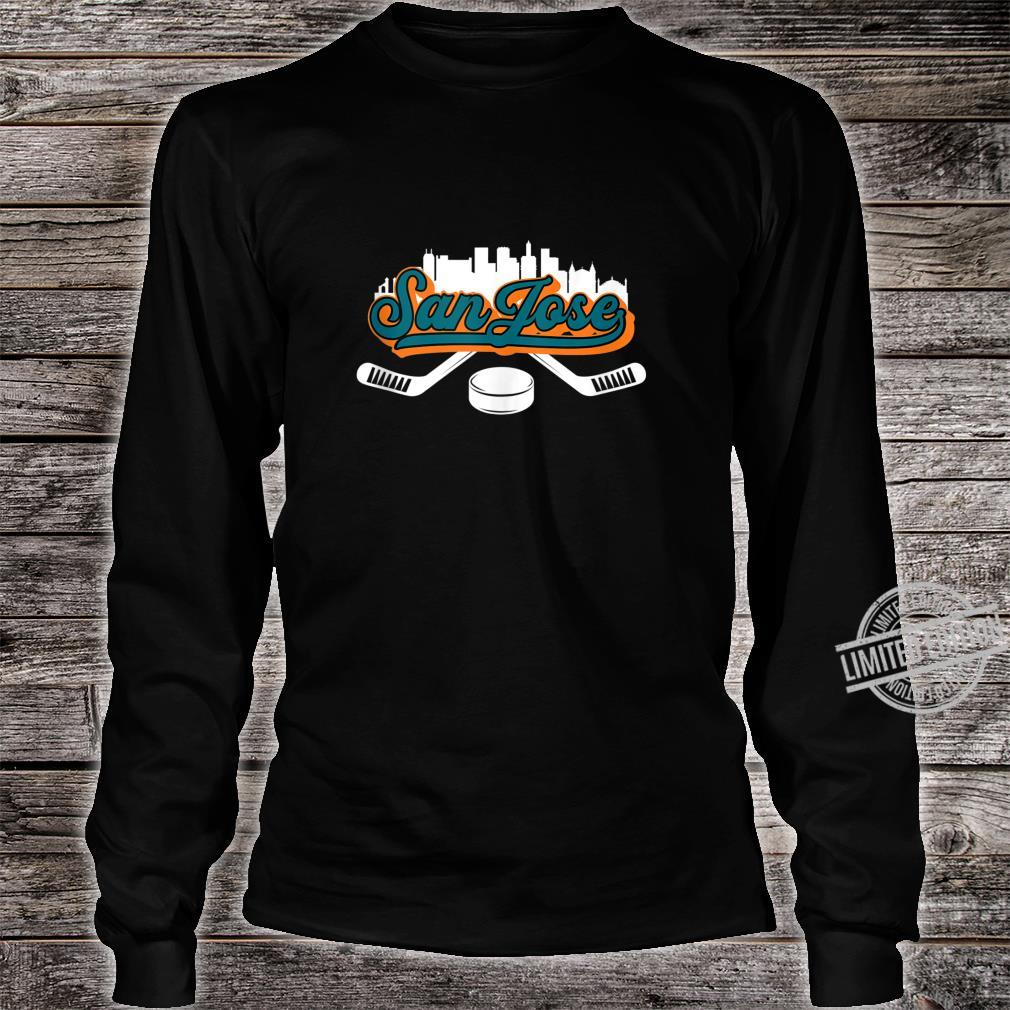 San Jose City Vintage Long Sleeve T-shirt