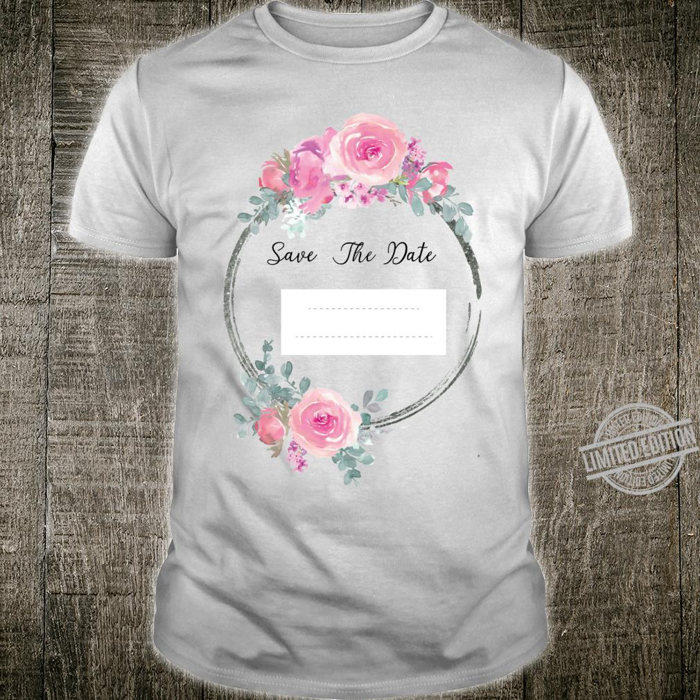 Save The Date Racerback Shirt