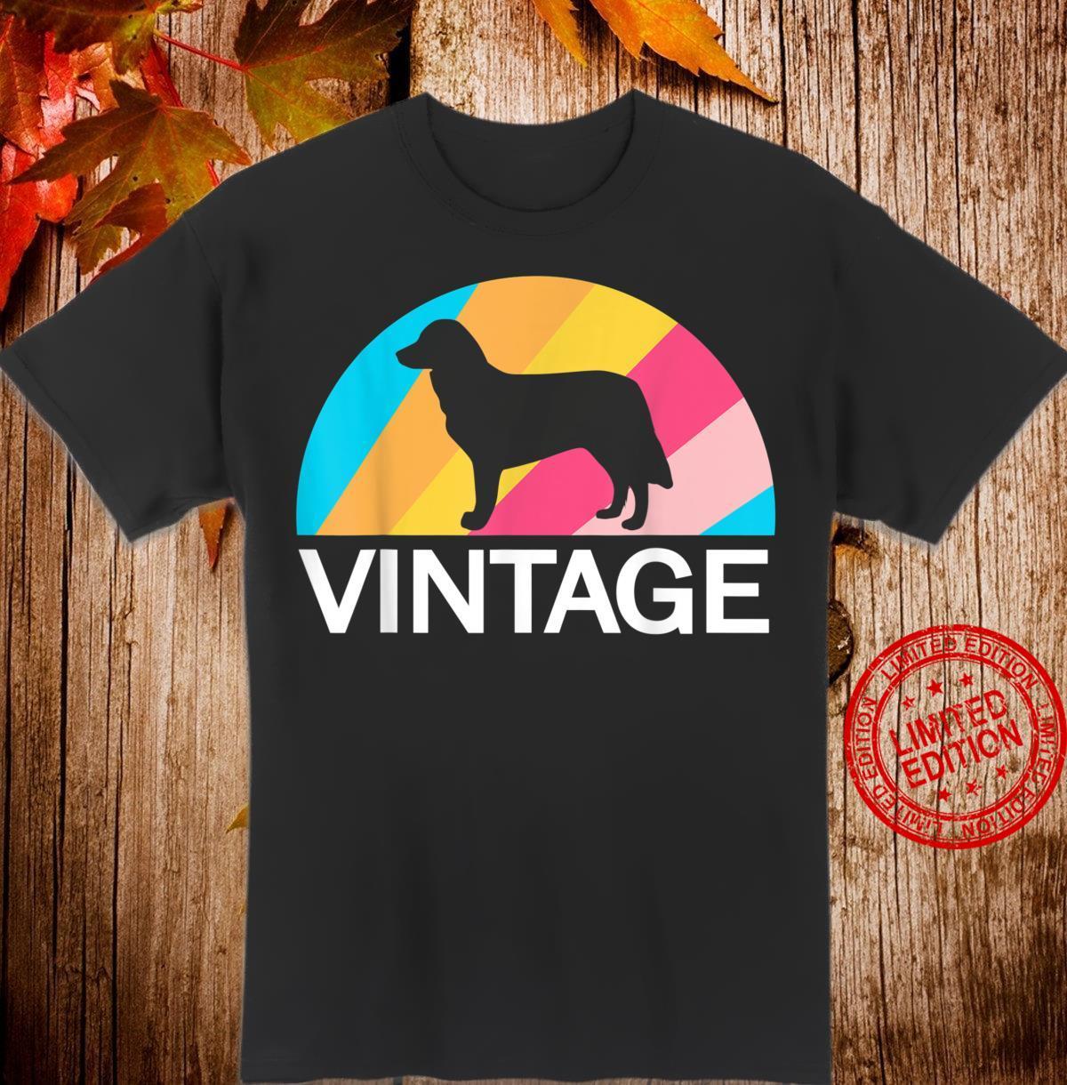 Stabijhoun Friesischer Vorstehhund Vintage Retro Style Hunde Shirt