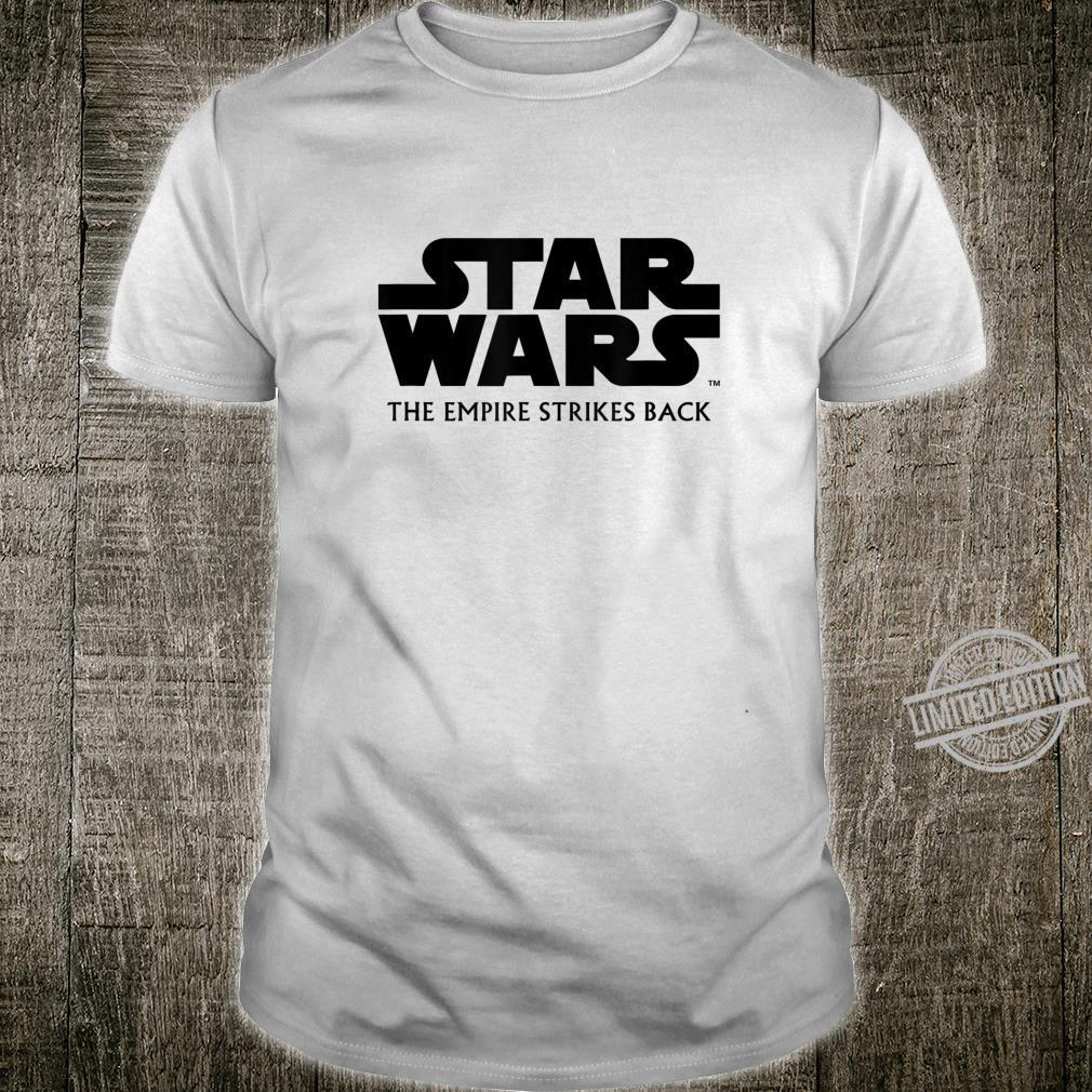 Star Wars The Empire Strikes Back Movie Logo Shirt