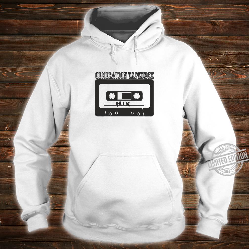 Tapedeck Music 80er Tape Ghettoblaster Boombox 90er Mix Fun Shirt hoodie