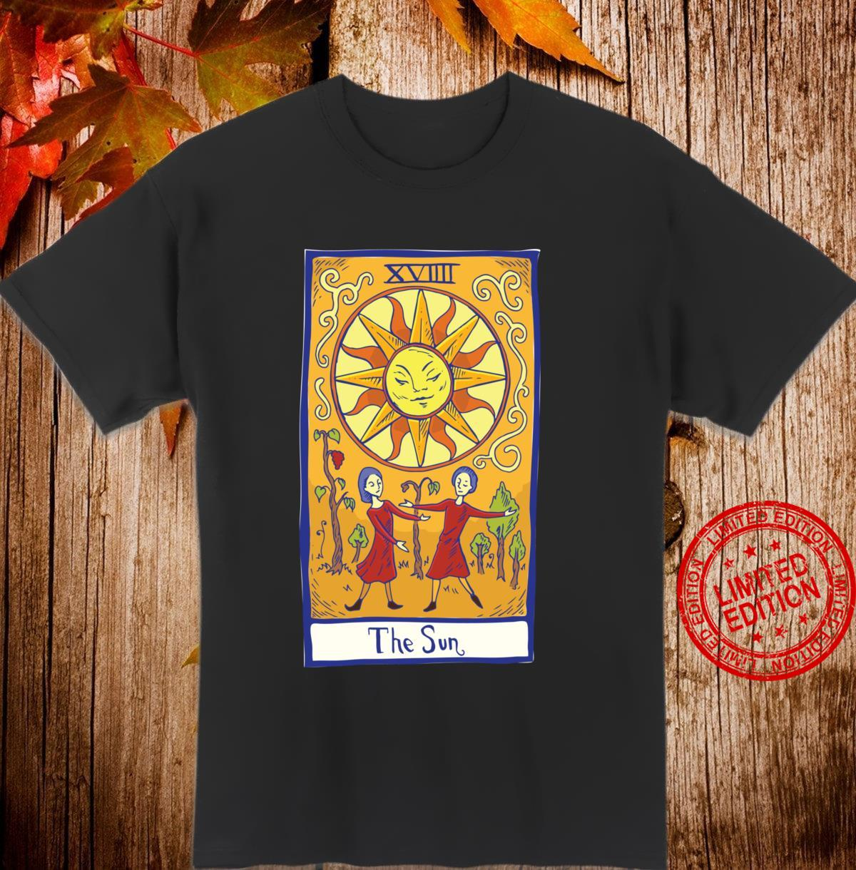 Tarot Card The Sun Shirt