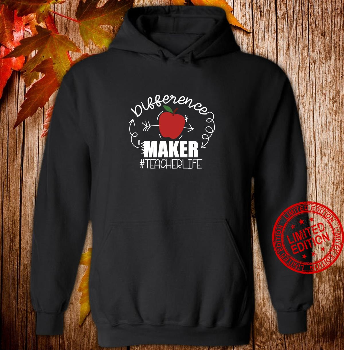 Teachers are Difference Makers, Teacher Back to School Shirt hoodie