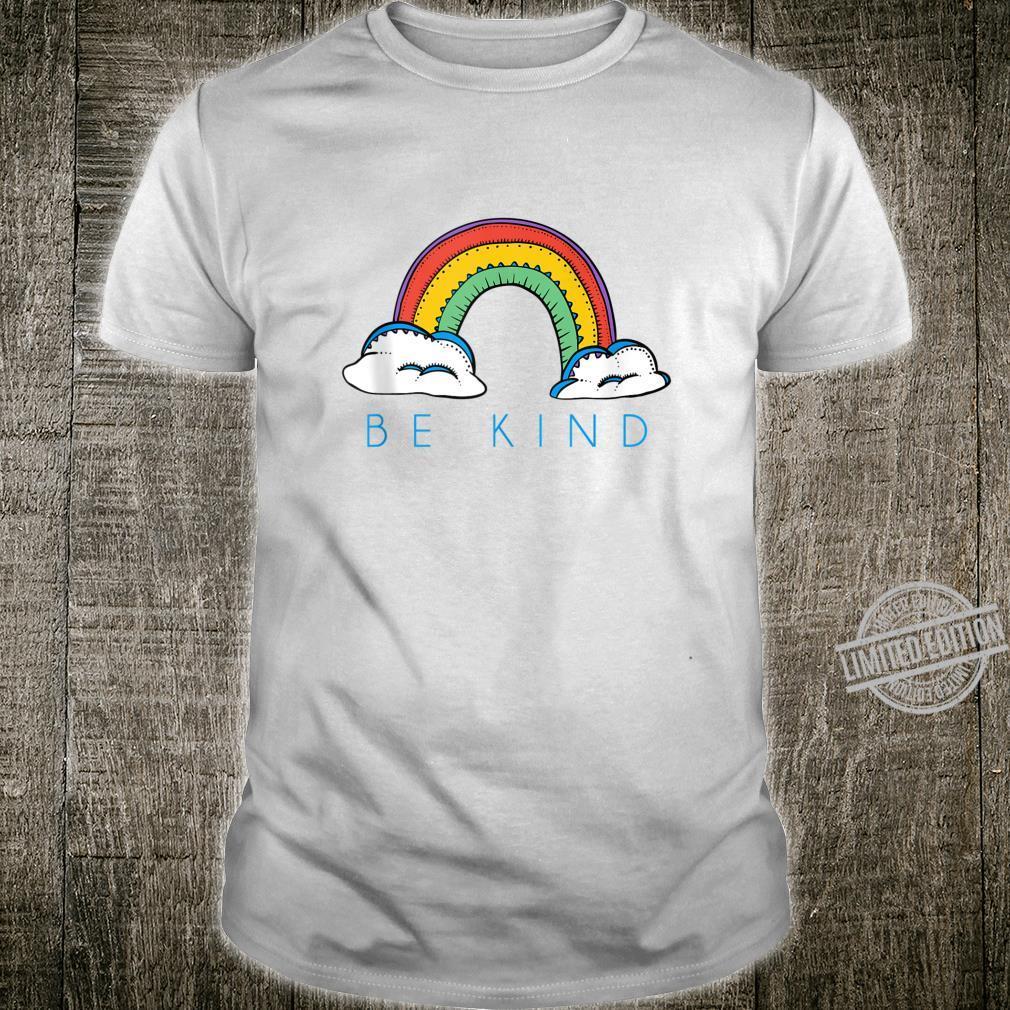 The Boho Rainbow Shirt Be Kind Positive Inspirational Shirt
