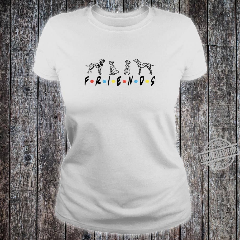 The One With The Dalmatians Friends, Dalmatian Dog Shirt ladies tee