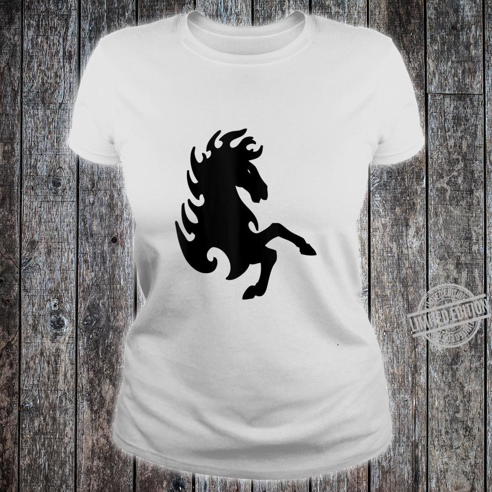 The Wild Horse Rebels that can't be tamed . Shirt ladies tee