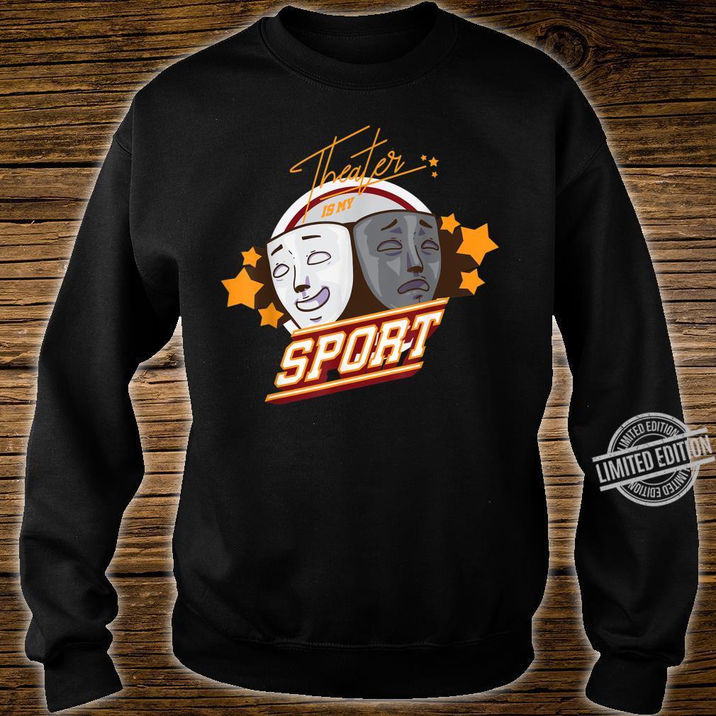 Theater Masken Shirt sweater