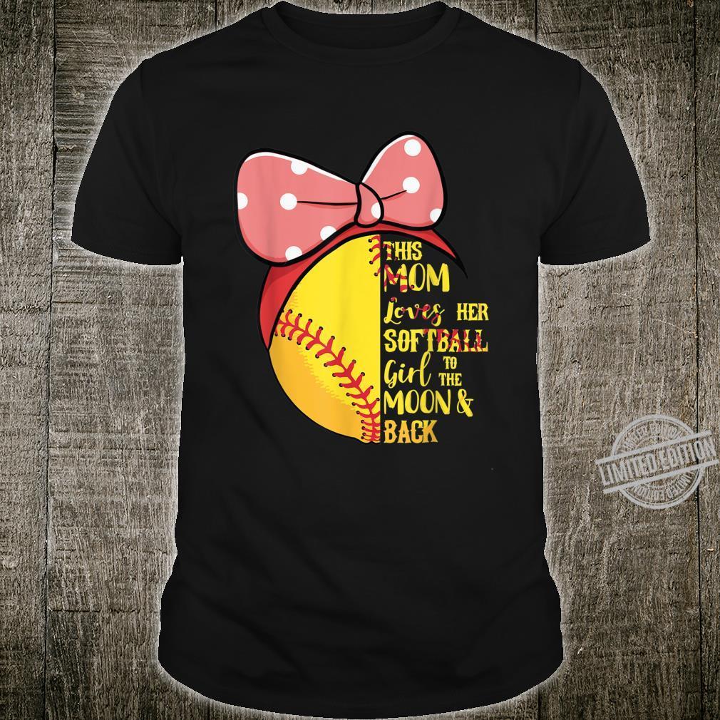 This Mom Loves Her Softball Girl Bandana Passion Sport Shirt