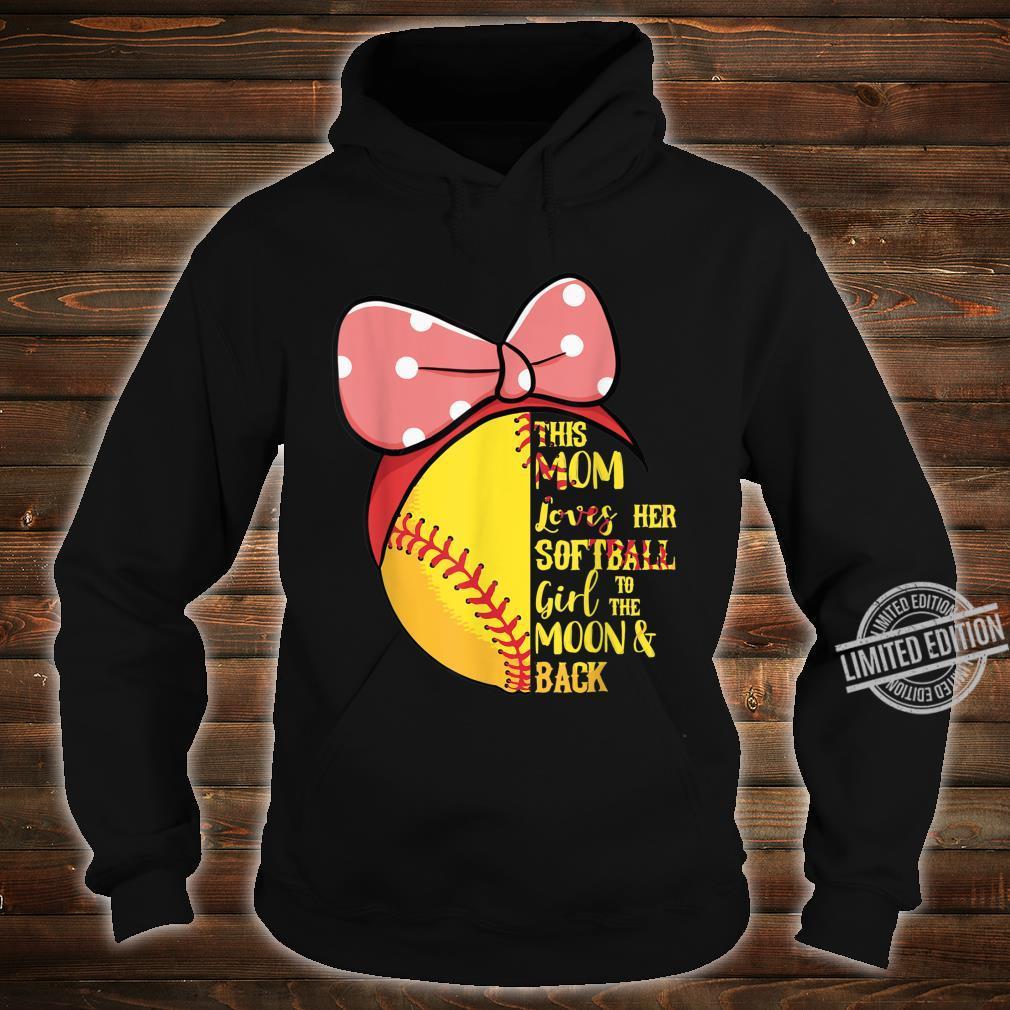 This Mom Loves Her Softball Girl Bandana Passion Sport Shirt hoodie